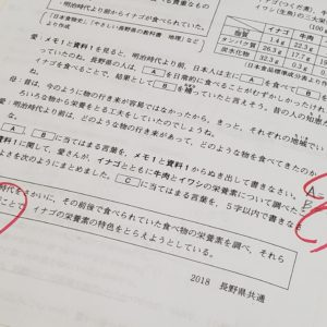 [平塚中等]銀本「資料・適語補充型」トレーニング